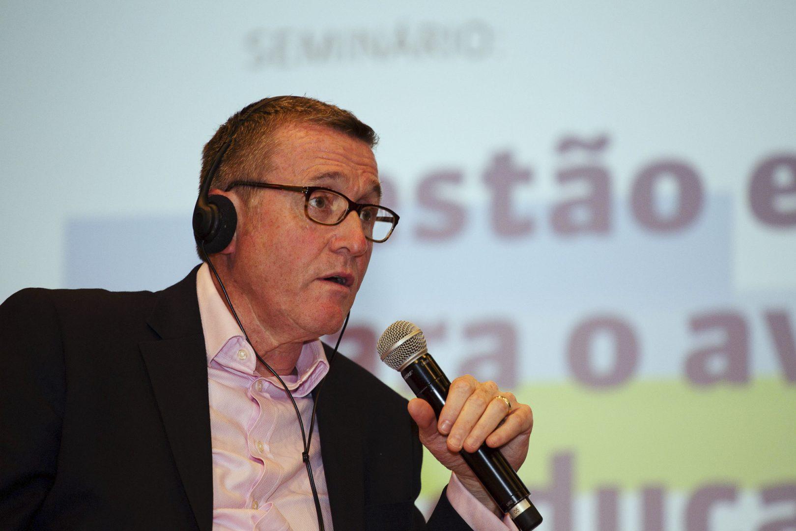 Sean Harford fala sobre a situação educacional do país